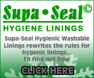Supa-Seal Hygienic Washable Linings rewrites the rules for hygenis linings... to find out more CLICK HERE